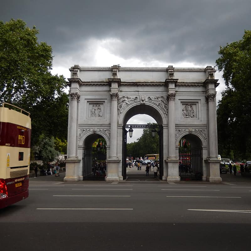Marble Arch building