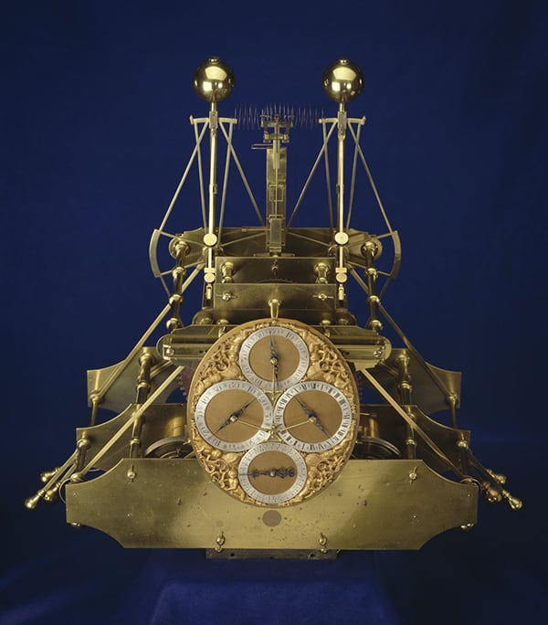 The marine chronometer invented by John Harrison