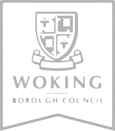 Brand identity for Woking Borough Council