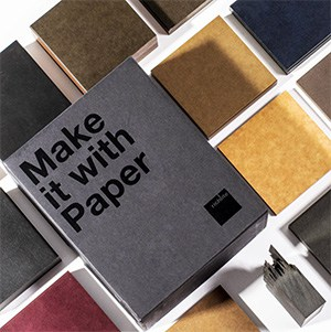 sustainable design materials from recycled paper