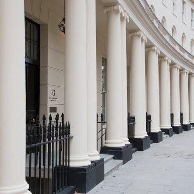 Entrance to Regents Crescent