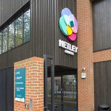Main entrance to Netley Campus